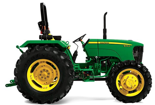 John Deere-Farm Tractor for the AFrame Custom Home property in the state of Maine.