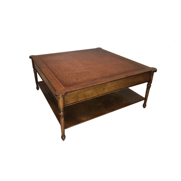 4ft powerscourt square coffee table