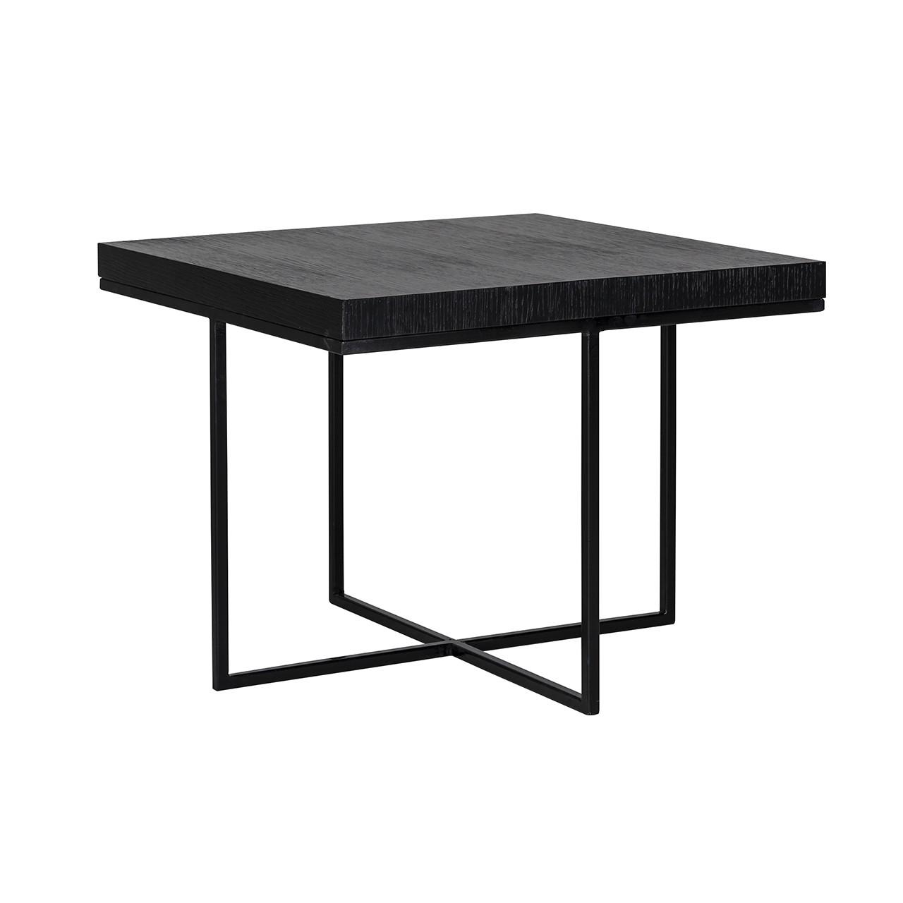 corner table oakura 60 60 black mylestone interiors ltd