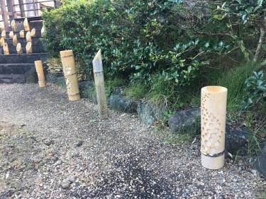 No.4419 茶の実オイル・あかりアート in 菊川の里 No.1  2019/9/12