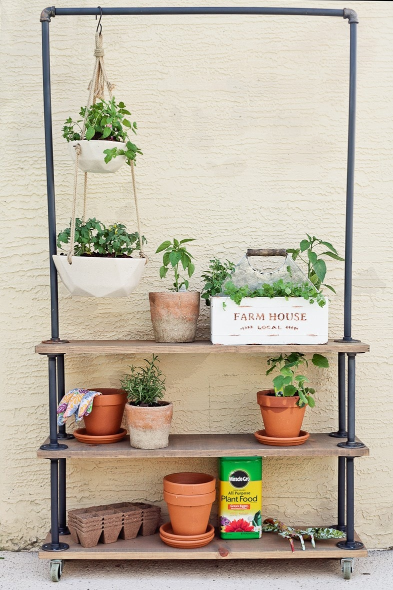 Thrifty DIY Plant Stand Ideas | My Life Abundant on House Plant Stand Ideas  id=79049