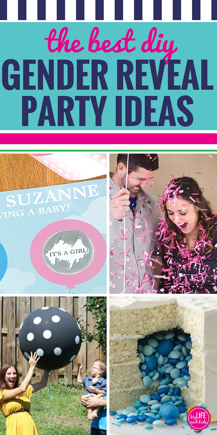 The Best DIY Gender Reveal Party Ideas