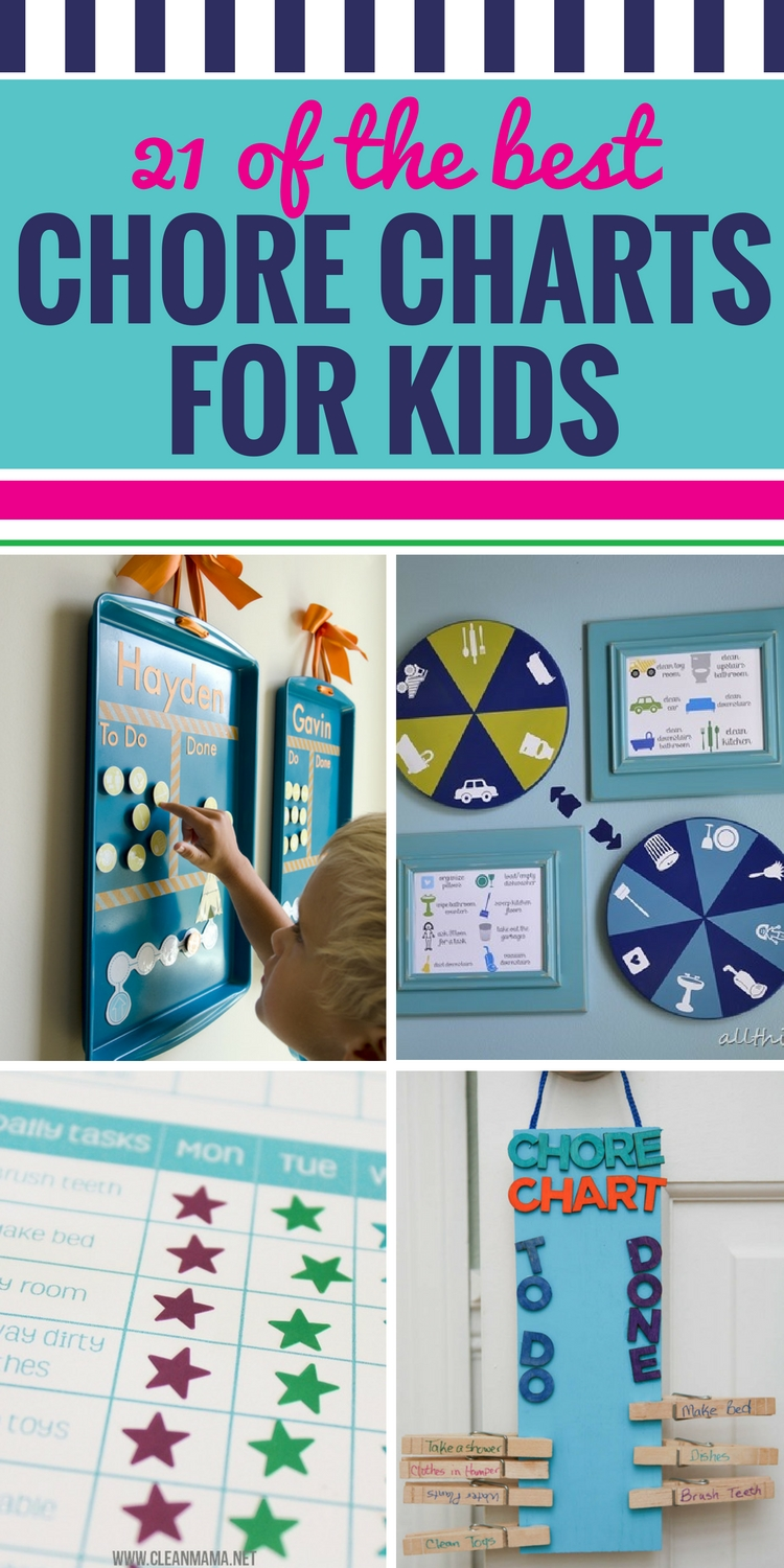 21 Of The Best Chore Charts For Kids My Life And Kids