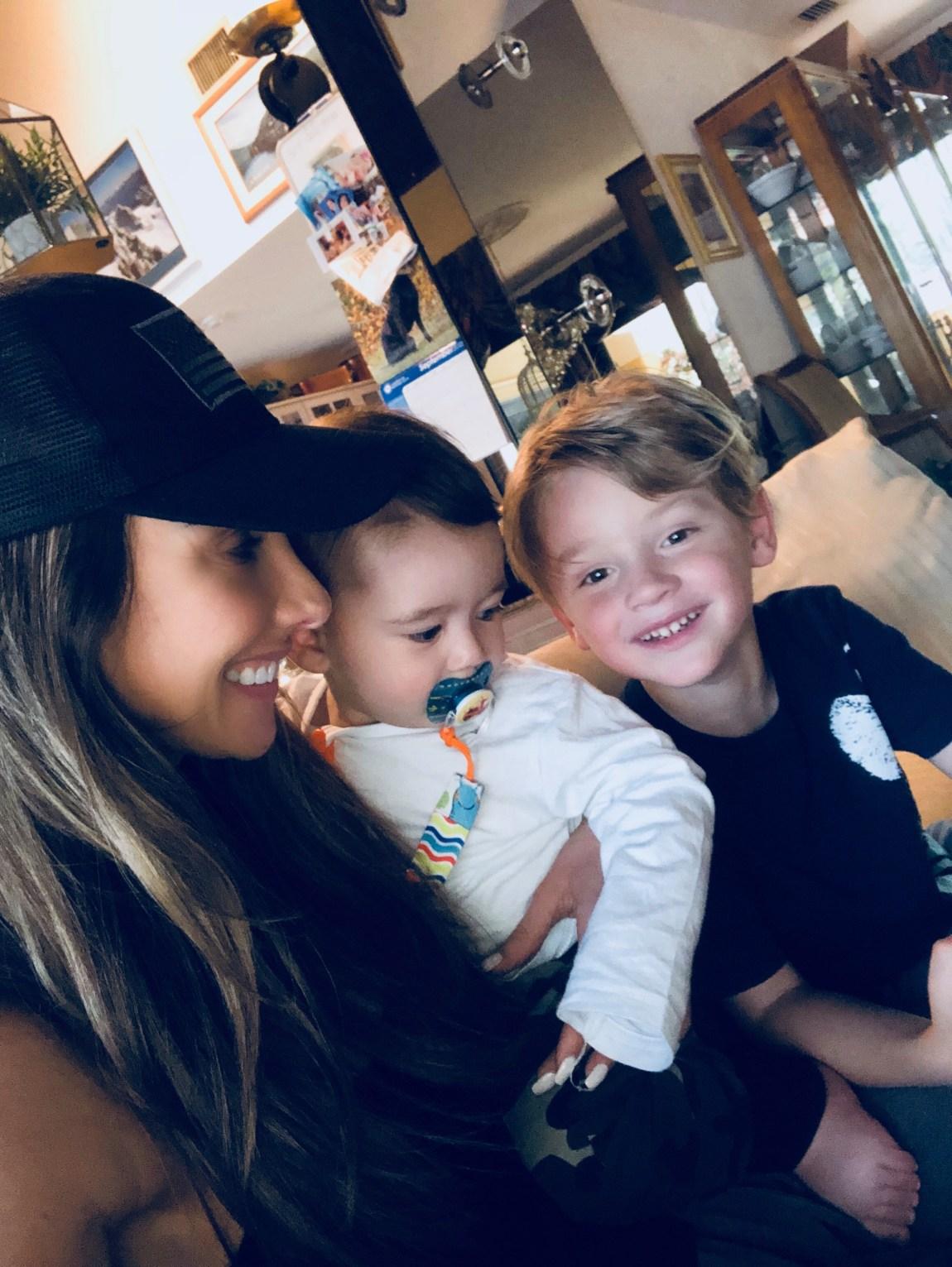 Aunt Katrina and Baby Cousin Pharaoh, I am Happy