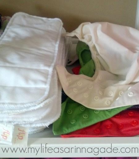 cloth diaper storage