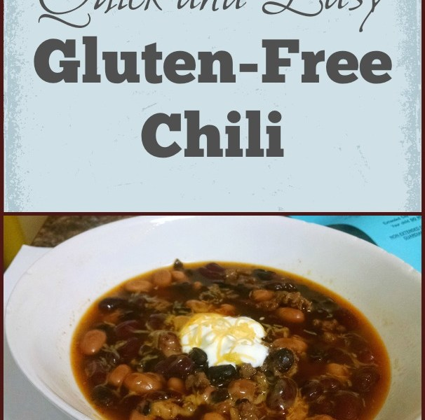 quick and easy gluten-free chili via my life as a rinnagade