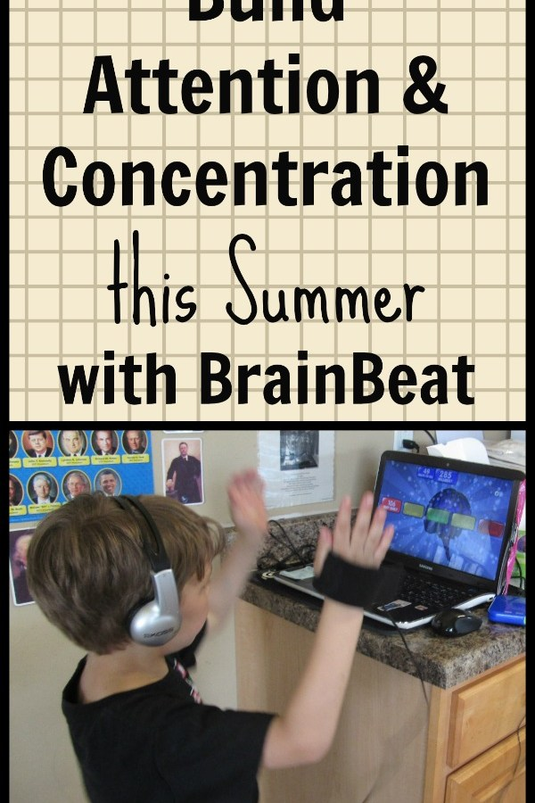 Boost Attention & Concentration this Summer with BrainBeat