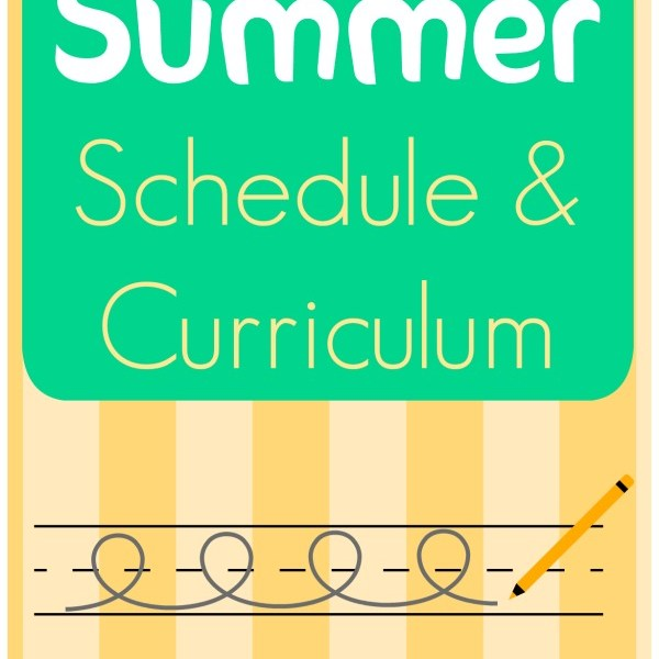 Summer Schedule & Curriculum via My Life as a Rinnagade