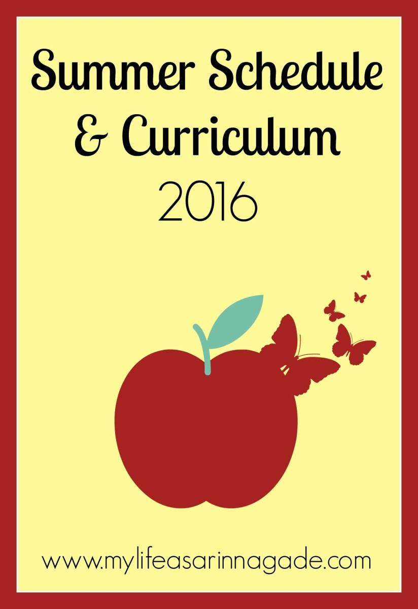 Our Curriculum & Schedule