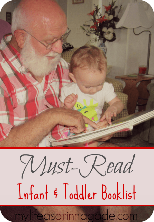 Infant & Toddler Booklist via My Life as a Rinnagade