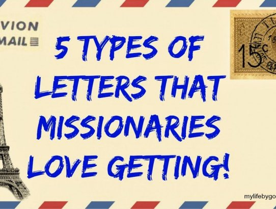Are you writing a missionary? are the struggling, or could they use encouragement? Here are 5 Types of Letters that missionaries LOVE getting!