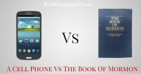A Cell Phone Vs. The Book Of Mormon