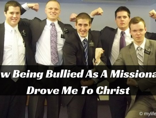Have you been bullied? Have you ever been bullied so bad that you lost the desire to live? This is how being bullied as a missionary led me to Christ.