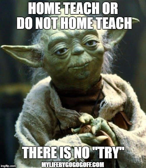 """Home Teach or do not Home Teach there is no """"try"""""""