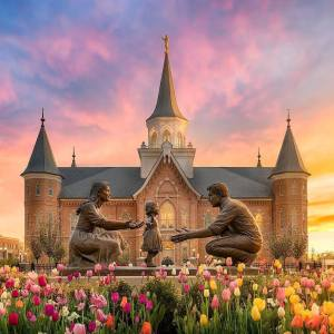 Provo City Center Temple by Alan Fullmer