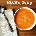 MAB's 3 Ingredient Soup