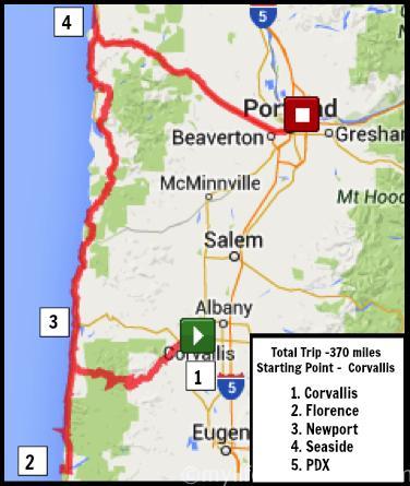 Day Trip Portland Oregon - West and South