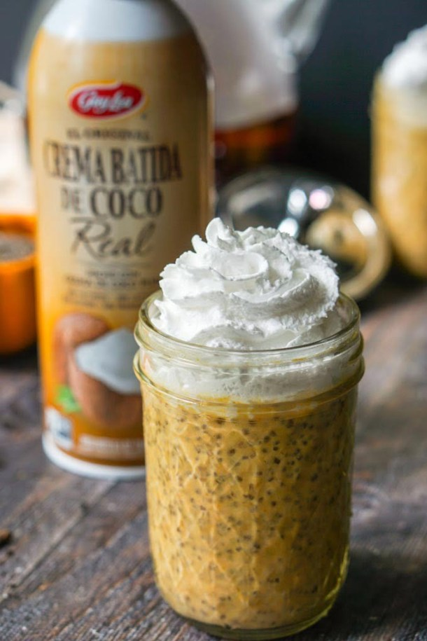 This pumpkin chai chia breakfast pudding has all that you need for a healthy breakfast. It's low carb, high fiber and has a little caffeine kick from the chai tea! And it's only 3.7g net carbs per serving!