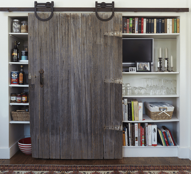Kitchen Pantry Door Options: Sliding Barn Doors