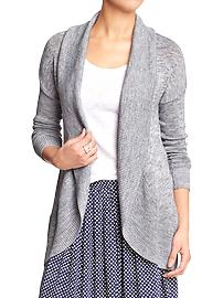 Gray spring sweater