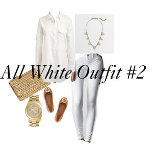 All White Outfit #2