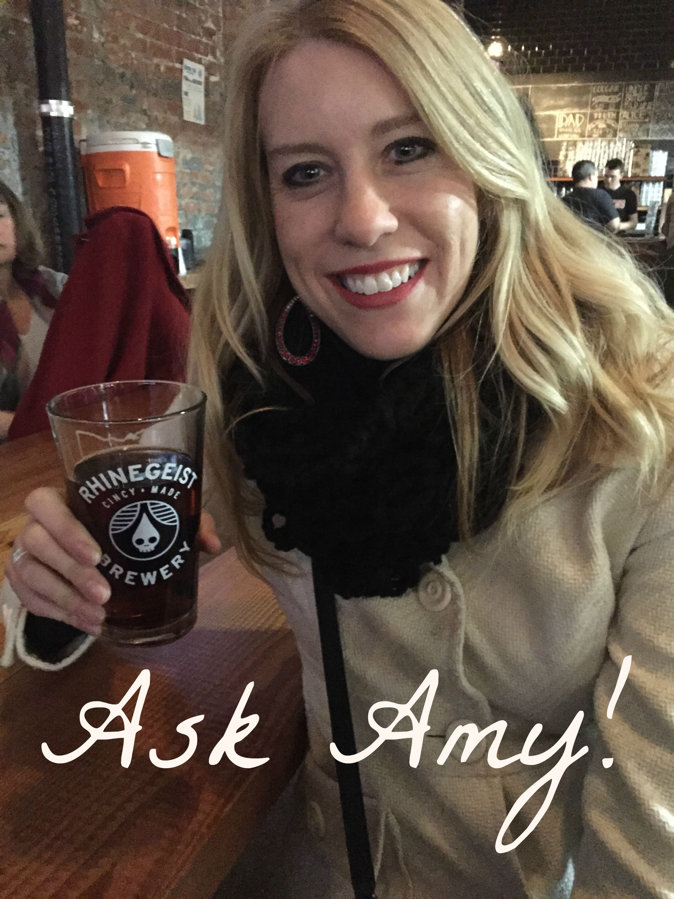 Ask Amy! series of posts to elaborate on the good ideas, projects, and products that I'm enjoying right now.