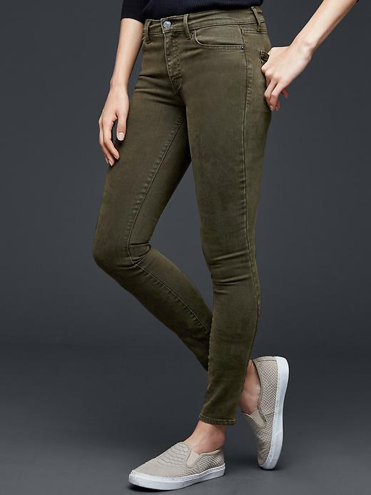 Gap olive jeans