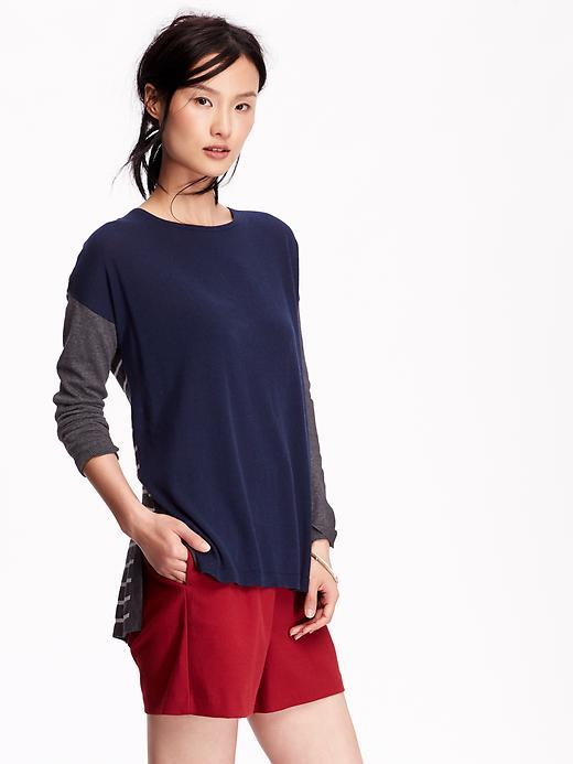 Color Blocked Sweater Old Navy