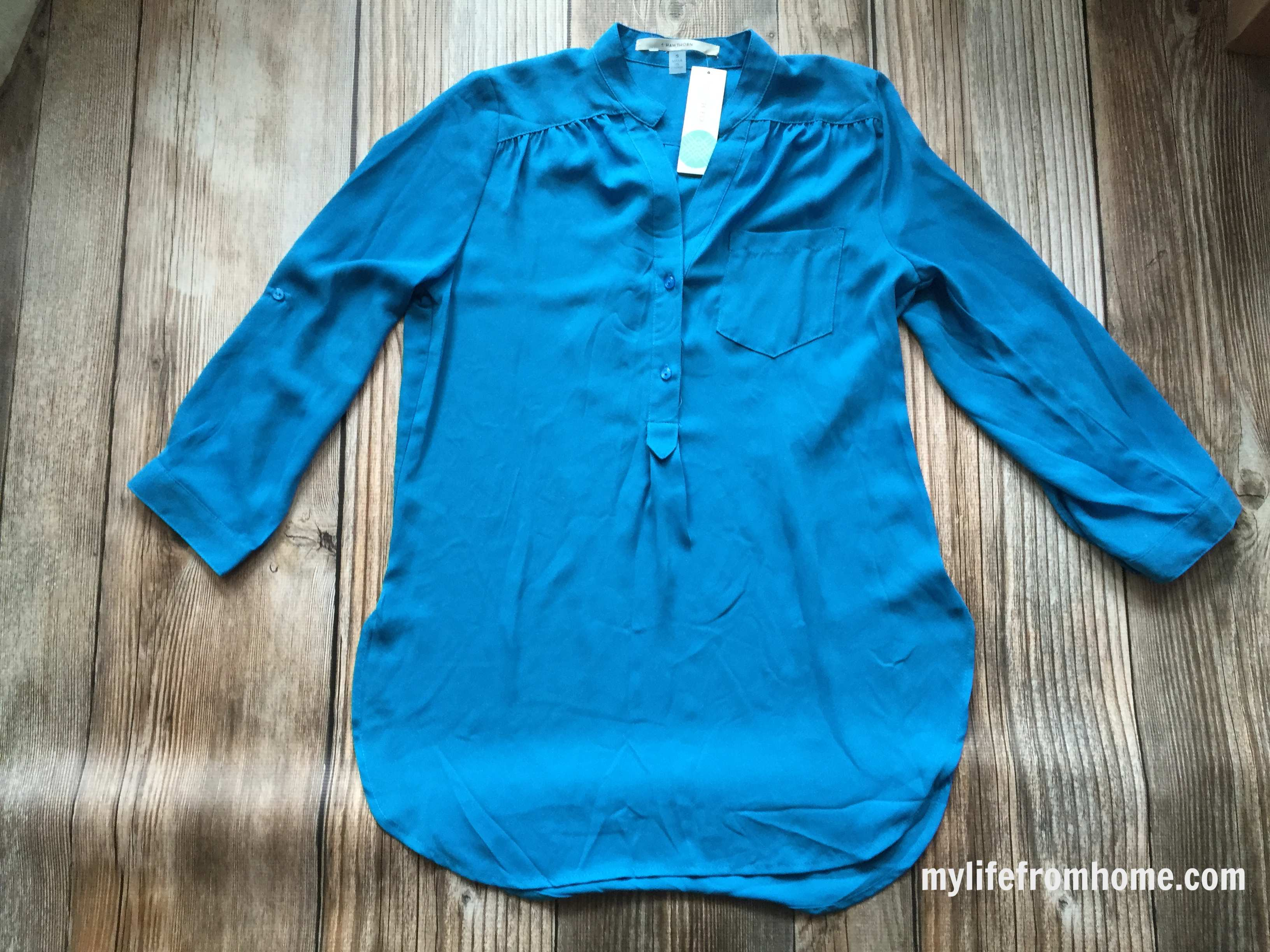 41 Hawthorn Blouse from Stitch Fix by www.whitecottagehomeandliving.com