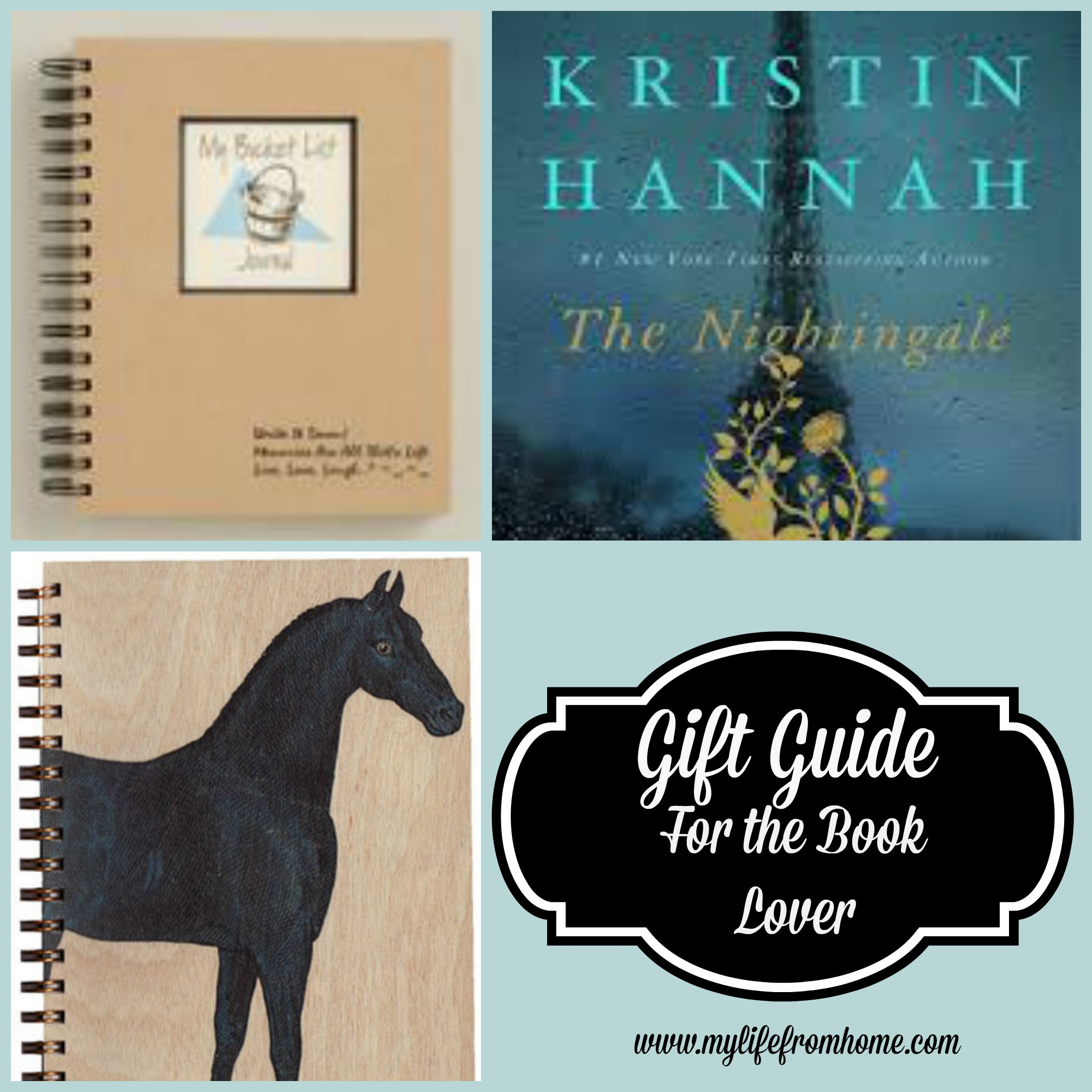 Gift Guide for the Book Lover by www.mylifefromhome.com