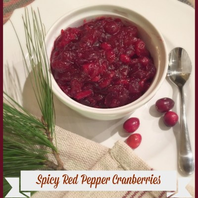 Spicy Red Pepper Cranberries