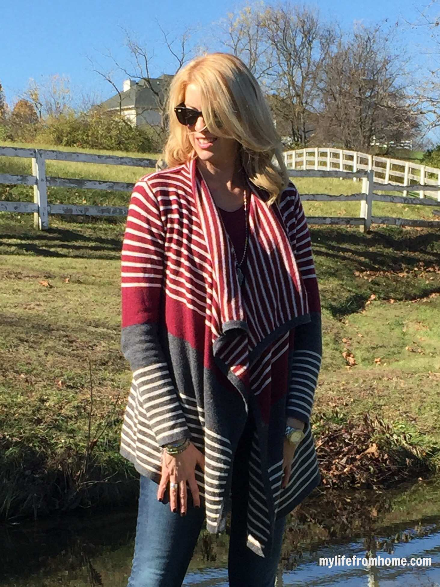 Stitch Fix Waterfall Cardigan by www.mylifefromhome.com