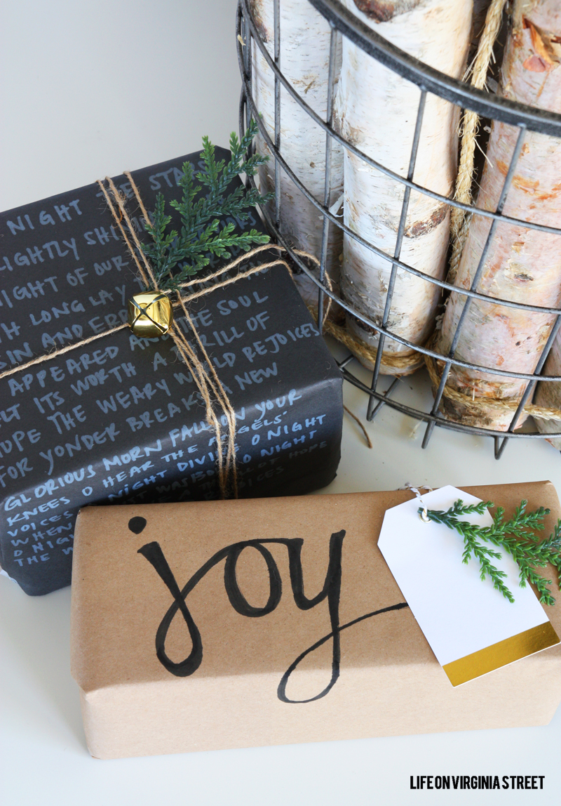 DIY-Chalk-Marker-Gift-Wrap-Pretty-Packages-Series-Life-On-Virginia-Street