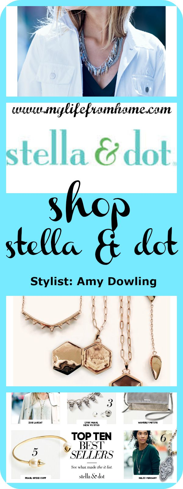 Shop stella and dot by www.mylifefromhome.com