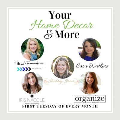 Home Decor & More Monthly Link Party #5