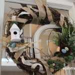 Spring Bird's Nest Wreath