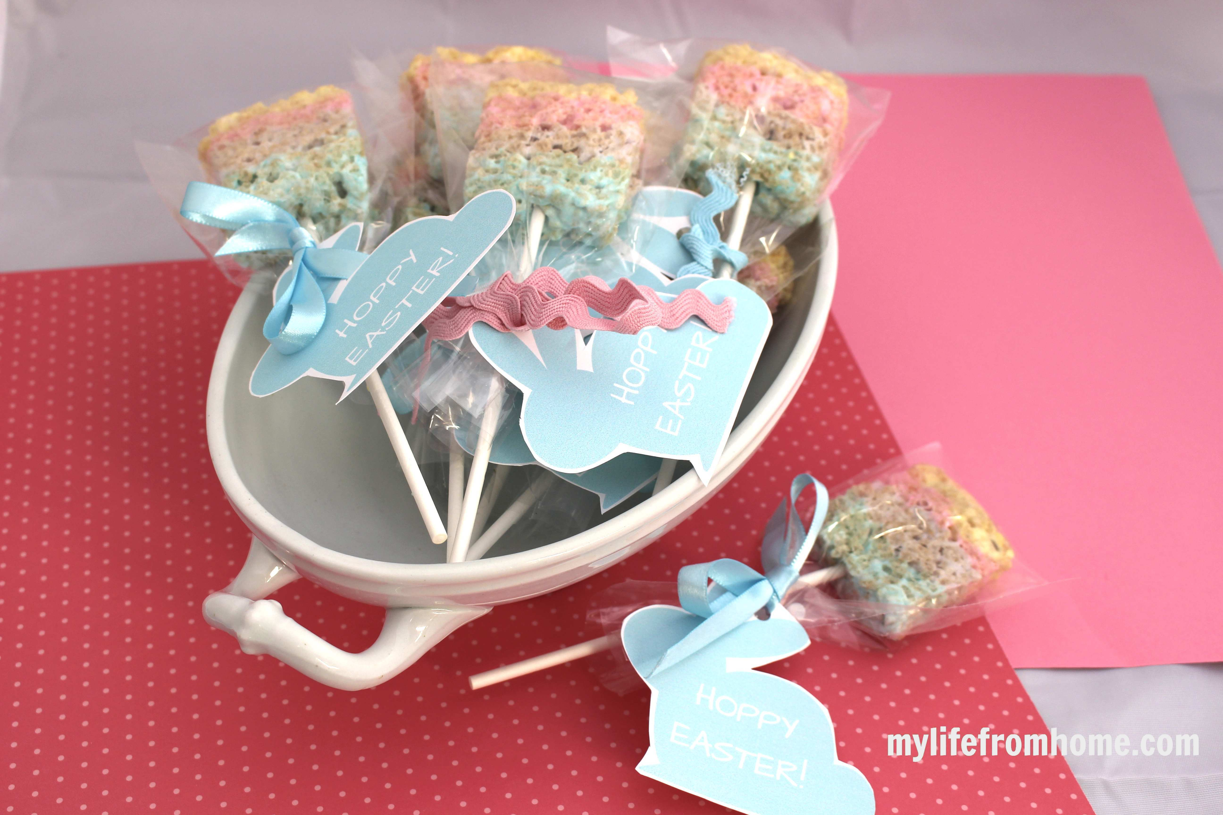 Easter Peep Popsicles by www.mylifefromhome.com