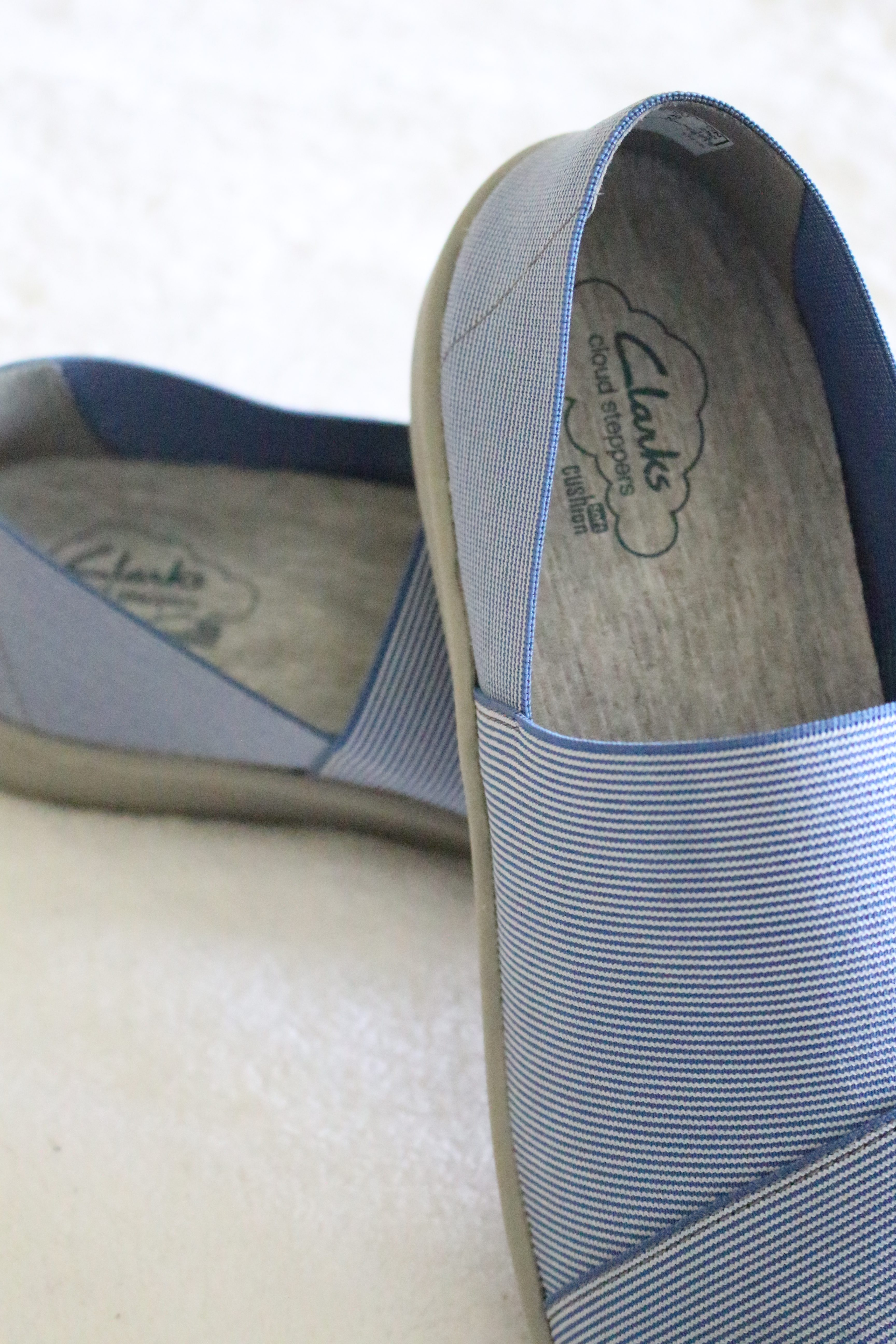 Clarks cloud stepper for versatile shoes with comfort by www.mylifefromhome.com