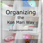 Kon Mari Organizing Project #4: Small Bath Storage & Organization