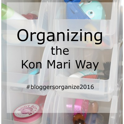 Kon Mari Organizing Project #4: Small Bath Storage & Organization
