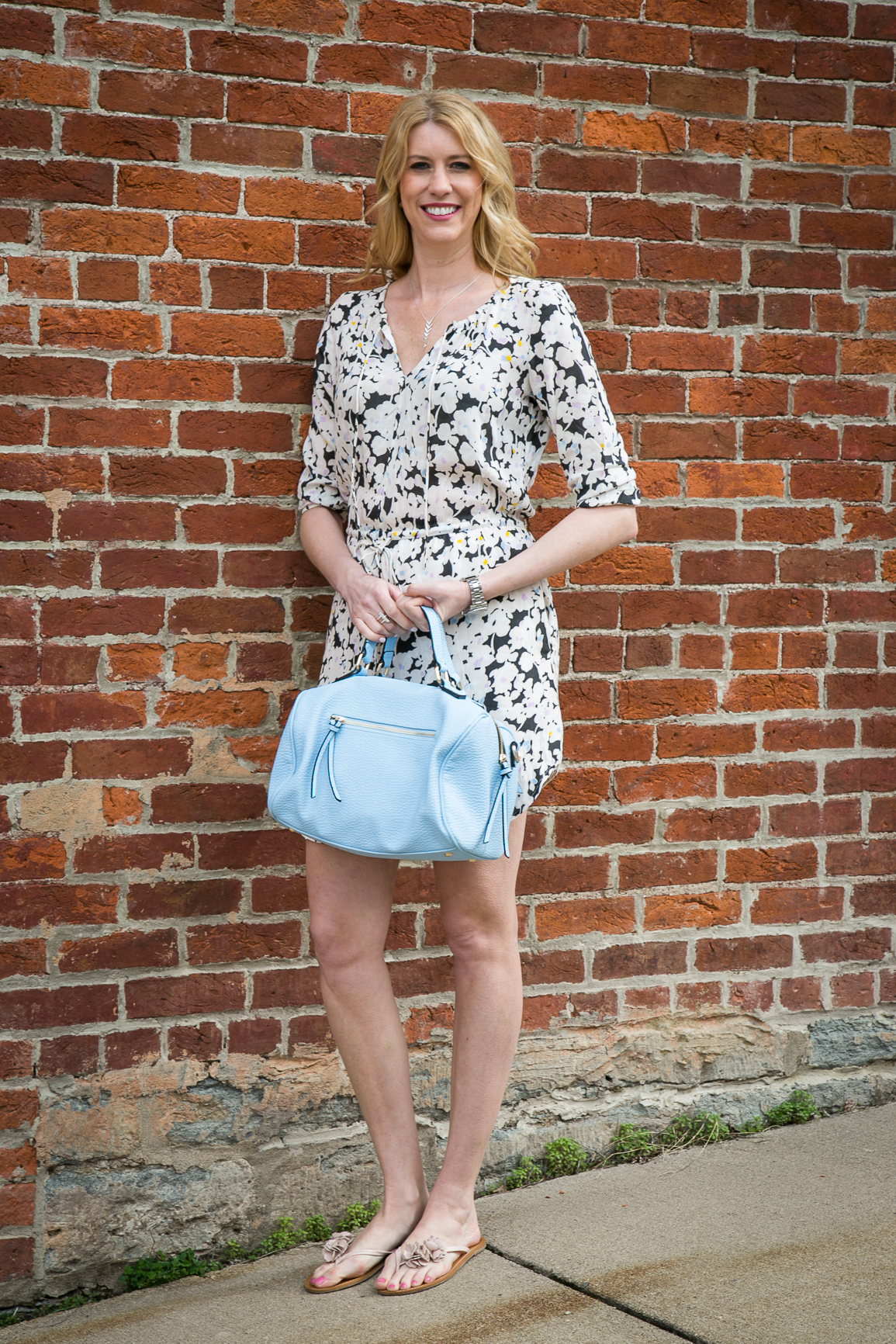 Spring Shirtdress Outfit by www.mylifefromhome.com Wish-0574-MLFH3.11