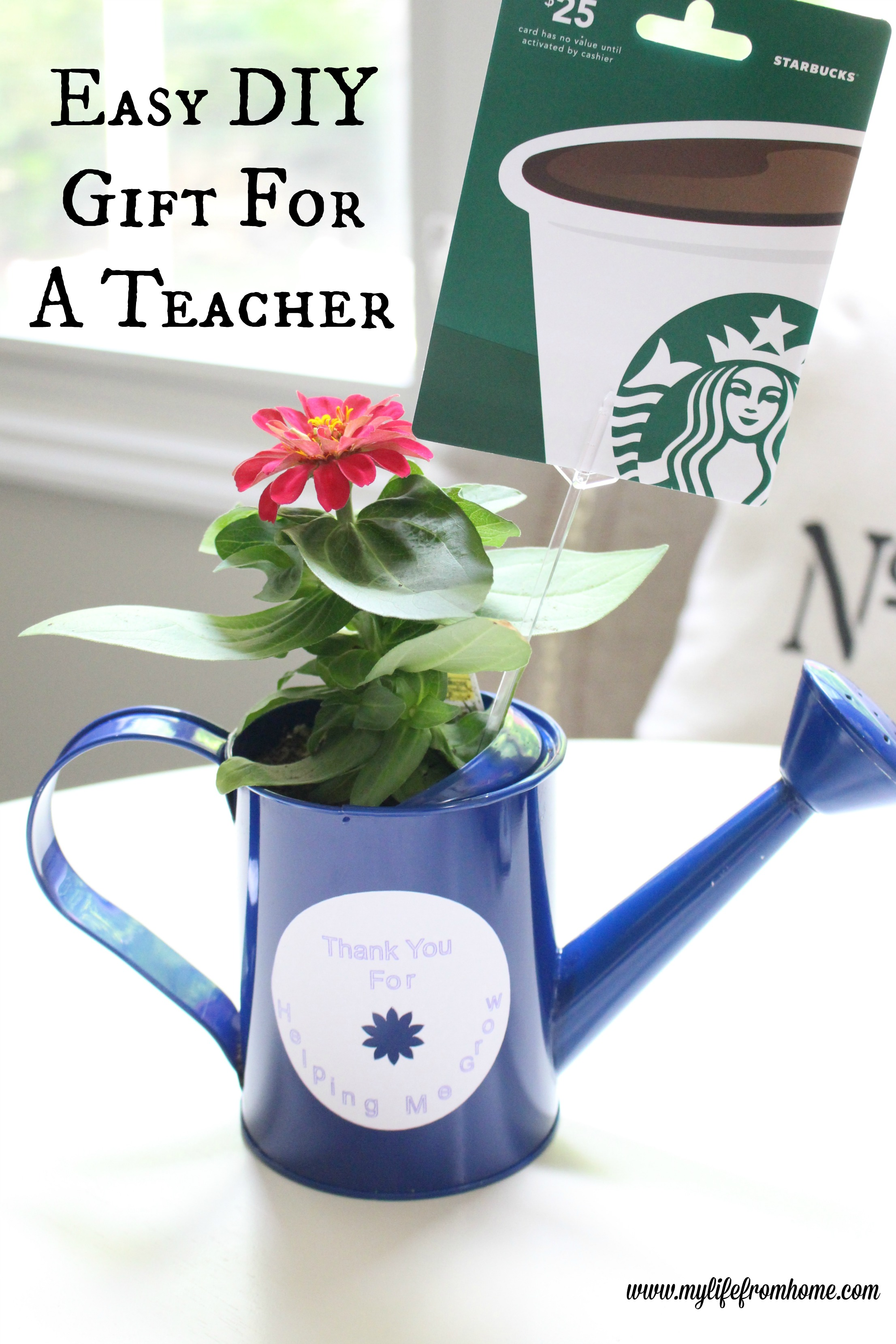 Easy DIY Gift for a Teacher Something They Will Actually Enjoy!! My Life From Home www.mylifefromhome.com