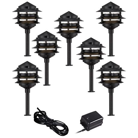Outdoor Lighting Pagoda Kit
