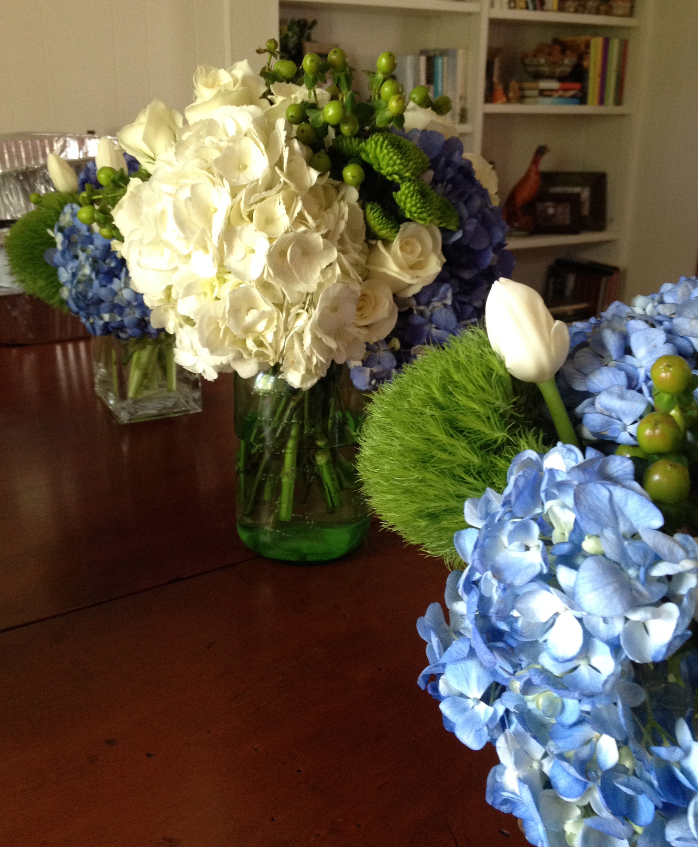 Flower Styling for a Derby Party