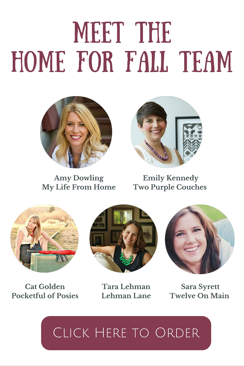 Home for Fall Team Graphic