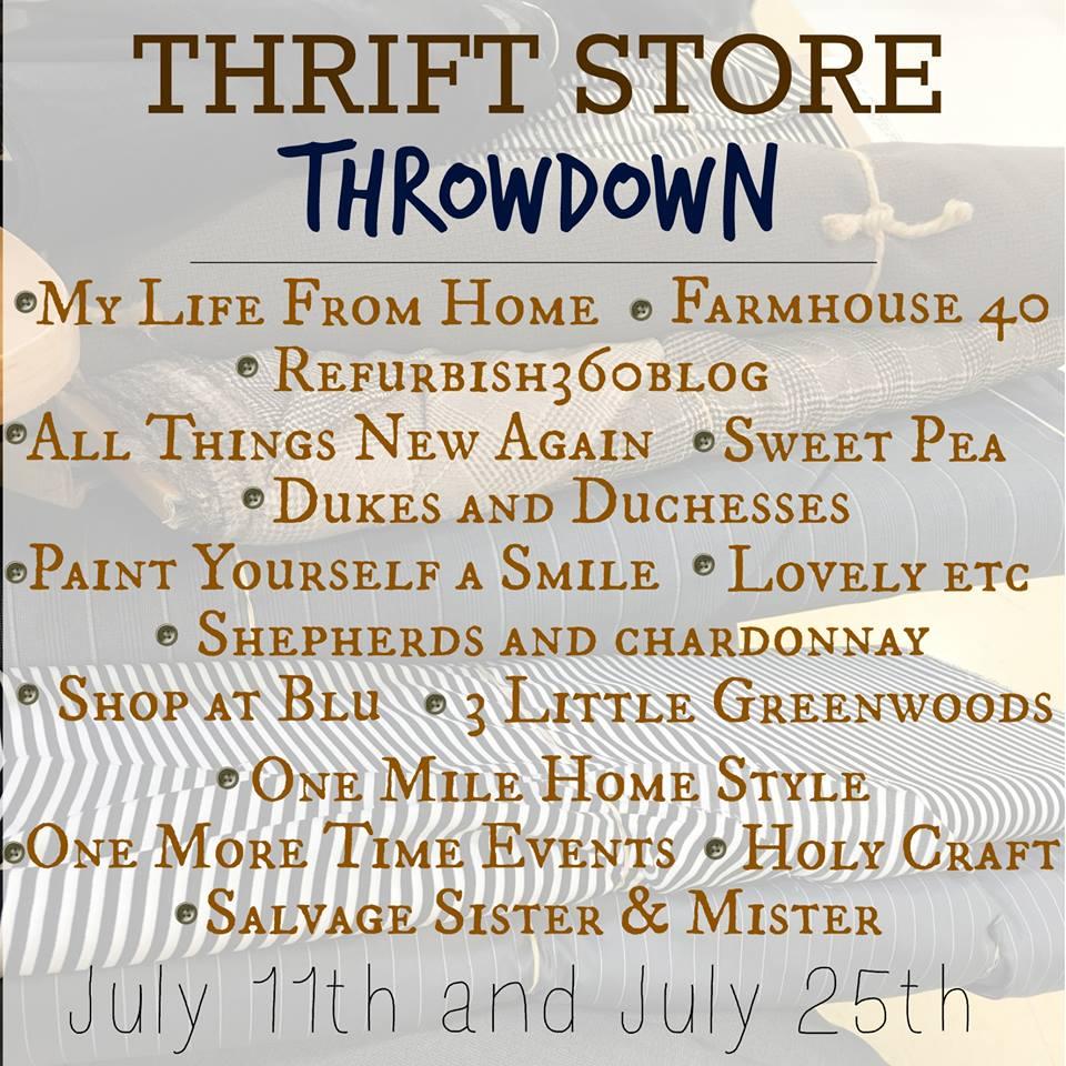 Thrift Store Challenge Widget
