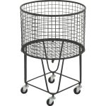 Joss & Main Rolling Storage Basket