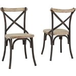 WalMart Rustic Reclaimed Dining Chairs