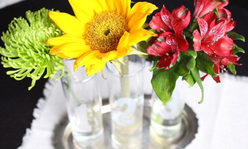 Create With Me~ Etched Glass Bud Vases