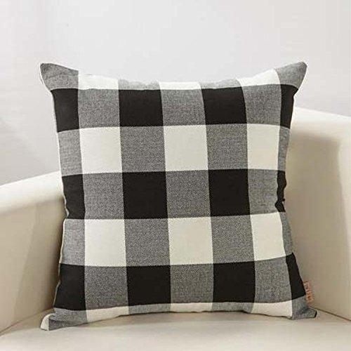 amazon-buffalo-check-pillow-covers